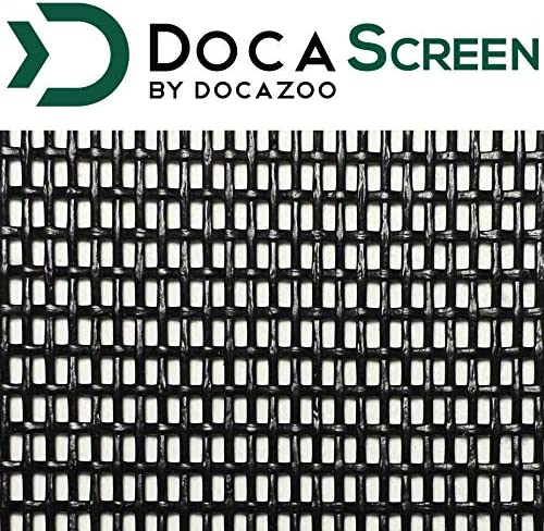 "DocaScreen Pet Screen – 60"" x 96"" Pet Proof Screen – Pet Resistant Screen for Window Screen, Patio Screen, Door Screen, Porch Screen, and Other Screen enclosures – Dog Screen, Cat Screen, and More"