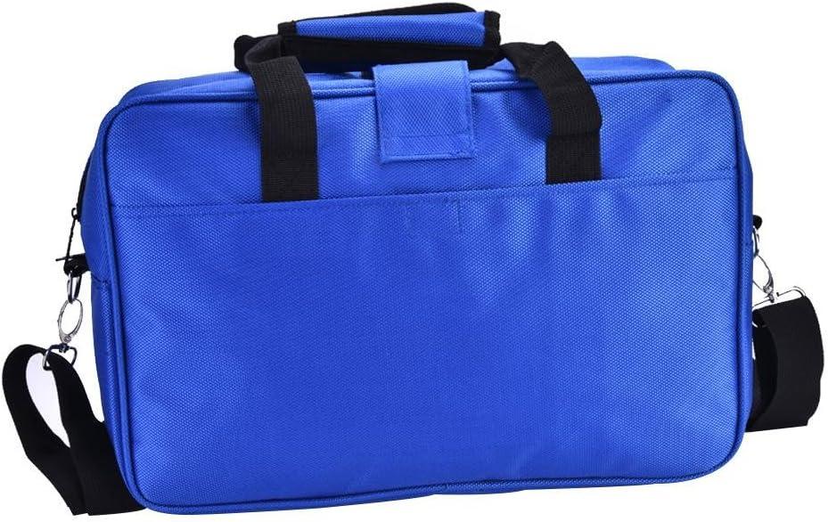 Tbest Clarinet Oboe Case Cover,Portable Clarinet Carry Case Oboe Shoulder Bag Padded Gig Bag Slant Pocket Bag Musical Instrument Handbag with Shoulder Strap Black