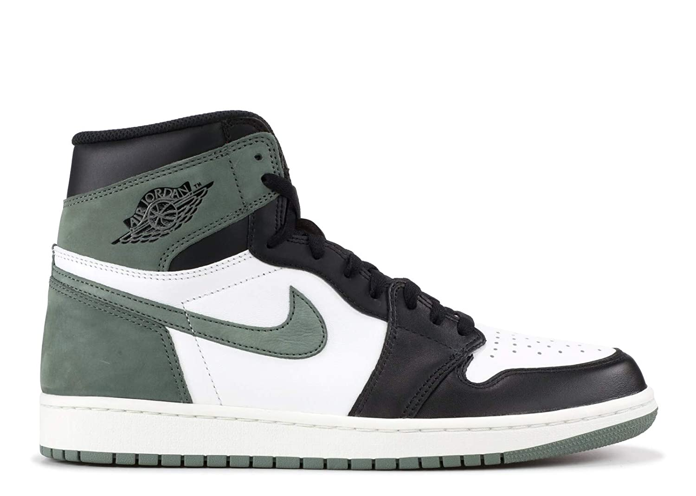 08500e2dbce82 AIR Jordan 1 Retro 'Clay Green' - 555088-135: Amazon.co.uk: Shoes & Bags