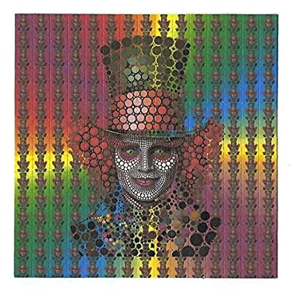 amazon com gdabs psychedelic blotter art print perforated sheet