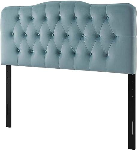 Editors' Choice: Contemporary Modern Urban Designer Bedroom Full Size Tufted Headboard