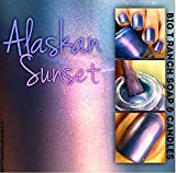 Multichrome Shade Shifter Nail Polish - Blue/Purple/Red Color Shifting - ''Alaskan Sunset'' - Hand Blended - 0.5 oz Full Sized Bottle - FREE SHIPPING