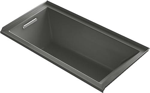 """KOHLER K-1121-L-58 Underscore 60"""" x 30"""" Alcove Bath"""