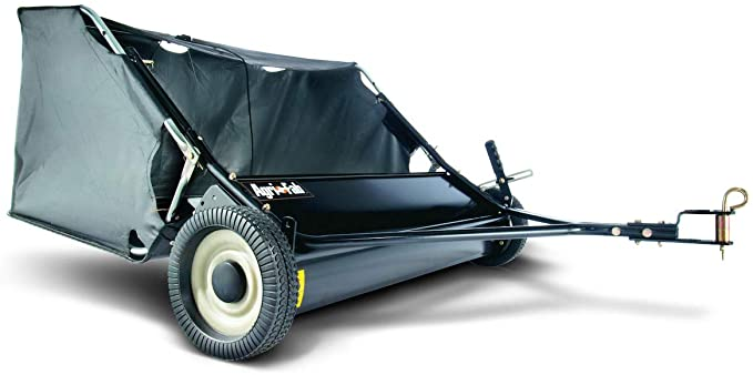 Agri-Fab 42-Inch Tow Lawn Sweeper - Best Lawn Sweeper for Big Hopper