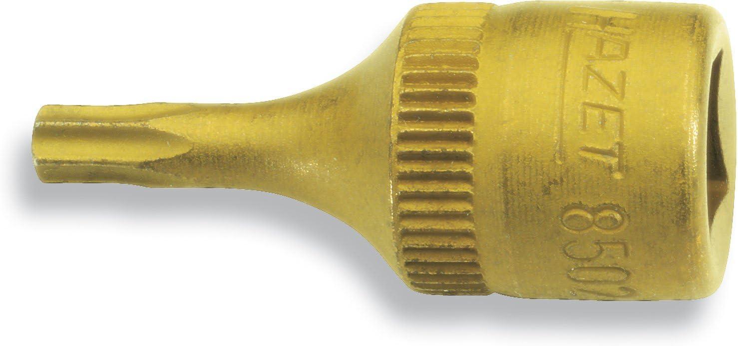 "Hazet 8502-T15 T15 Torx Titanium-Nitride 1//4/"" Socket"