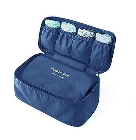 GOURDOLL bolsa de ropa interior sujetador bolso organizador de viaje maquillaje cosmético bolsa de aseo bolso