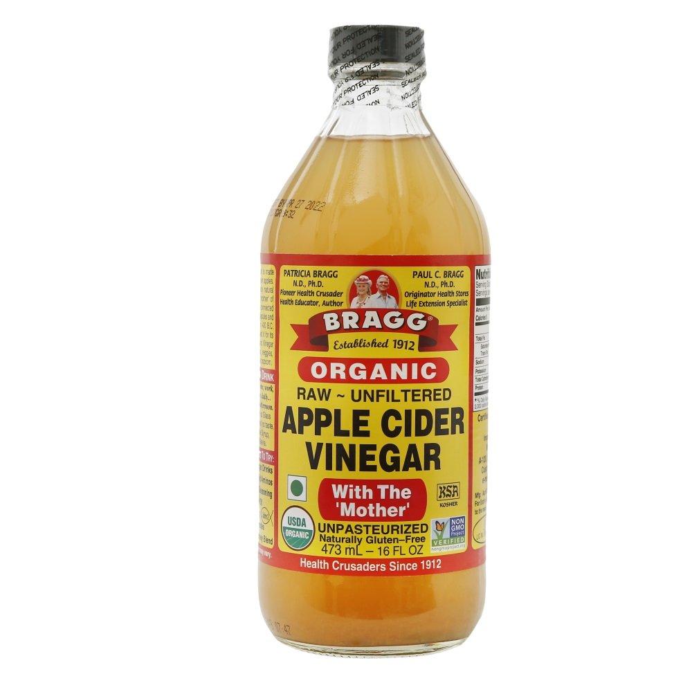 Bragg Organic Raw Apple Cider Vinegar - 473 ml product image