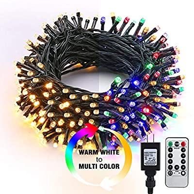 Brizled 200 LED Color Changing Christmas Lights