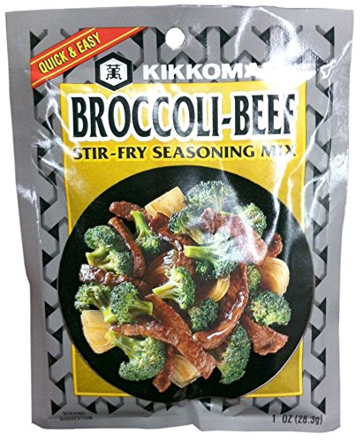KIKKOMAN MIX SSNNG BROCCOLI BEEF, 1 OZ,(Pack of - Stir Fry Kikkoman