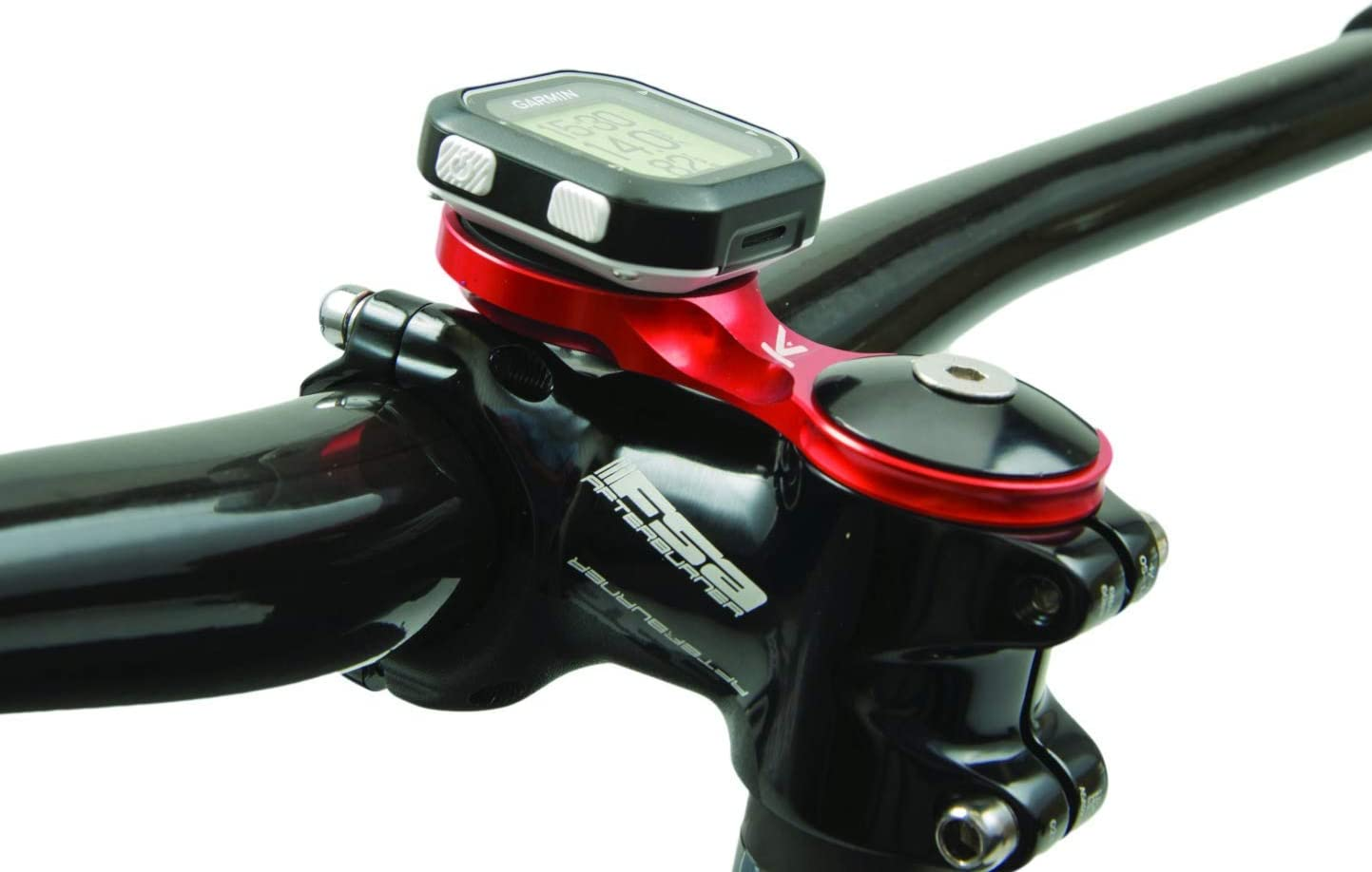 K-Edge Adjustable Stem Mount for Garmin Quarter Turn Type Cycle GPS Computer
