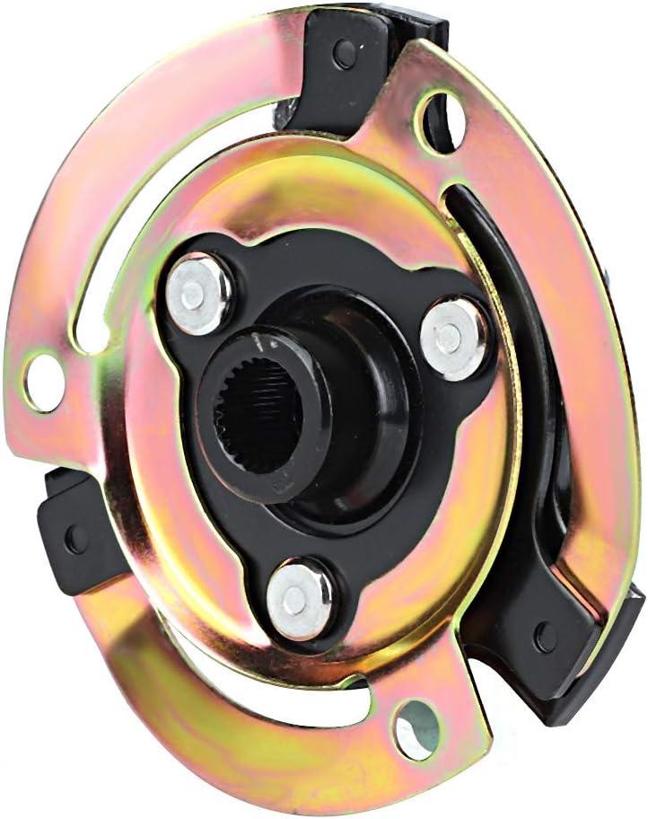 5N0820803 Mozzo frizione compressore compressore aria condizionata automobilistico adatto per auto Qiilu Piastra mozzo frizione