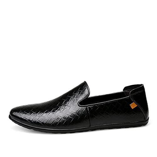 Minitoo Boy's Men's Checked Slip-On Leisure Spring Boat Shoes Loafers:  Amazon.co.uk: Shoes & Bags