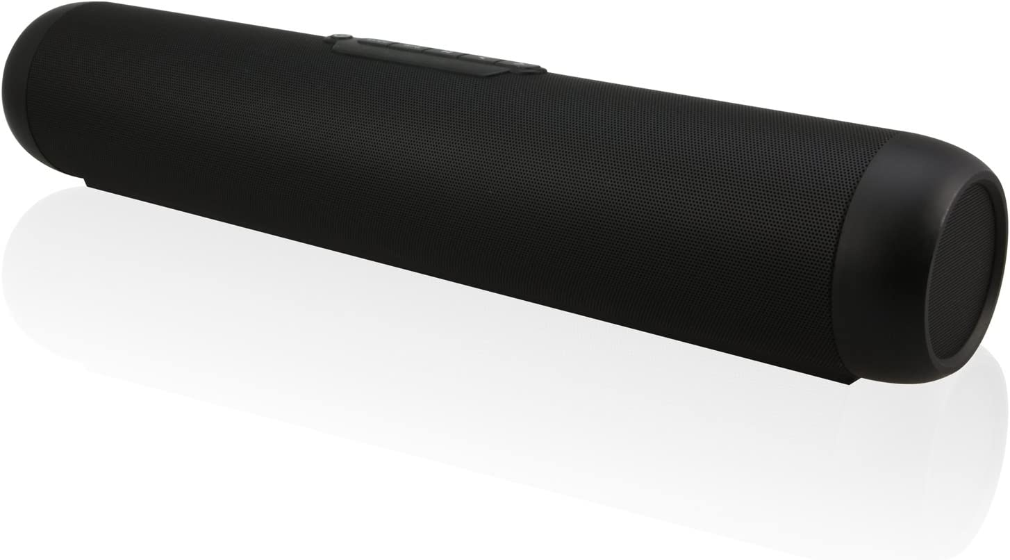 iLive Wireless Multi-Room Sound Bar Speaker, Includes Remote Control, Wall Mountable (Hardware Included), Black (ISWF776B)