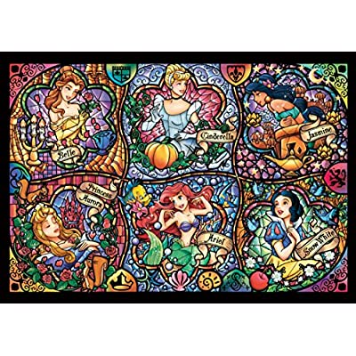 Disney Worlds Smallest 1000 Piece Brilliant Princess Dw 1000 433 By Tenyo By Tenyo