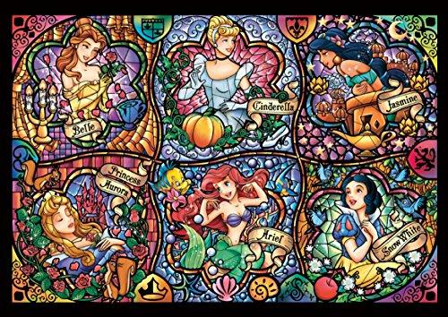 Disney Worlds Smallest 1000 Piece Brilliant Princess Dw 1000 433 By Tenyo By Tenyo