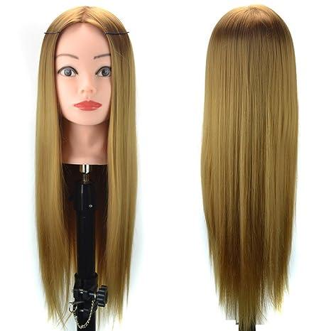 OHQ Peluca de cola de caballo sintética de cabello rizado Peluca Mujeres Clip-in mujeres