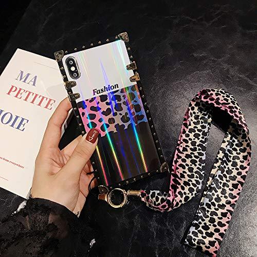 - Galaxy Note 8 Laser Leopard Glitter Case,Luxury Fashion Design Laser Leopard Glitter Skin Soft Trunk Case with Leopard Wrist Strap for Women Girls Gift for Samsung Galaxy Note 8 (2017)