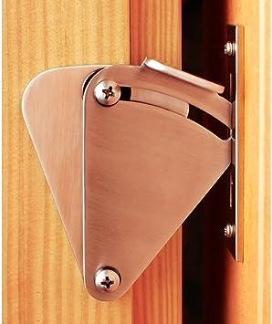 Hahaemall - Kit de cerradura para puerta de madera corredera: Amazon.es: Bricolaje y herramientas