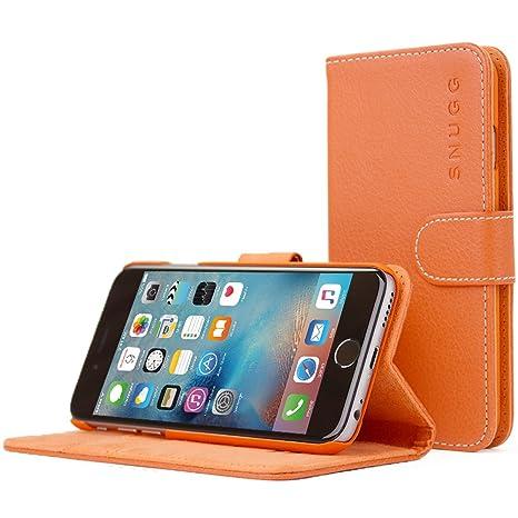 Amazon.com: iPhone 6 Funda, Snugg – Funda con tapa ...