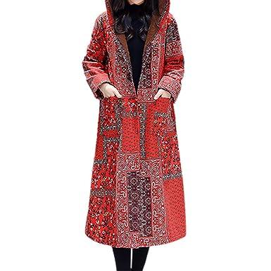 TianWlio Mäntel Frauen Weihnachten Damen Mantel Langarm