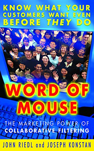 Download Word of Mouse: The Marketing Power of Collaborative Filtering Pdf