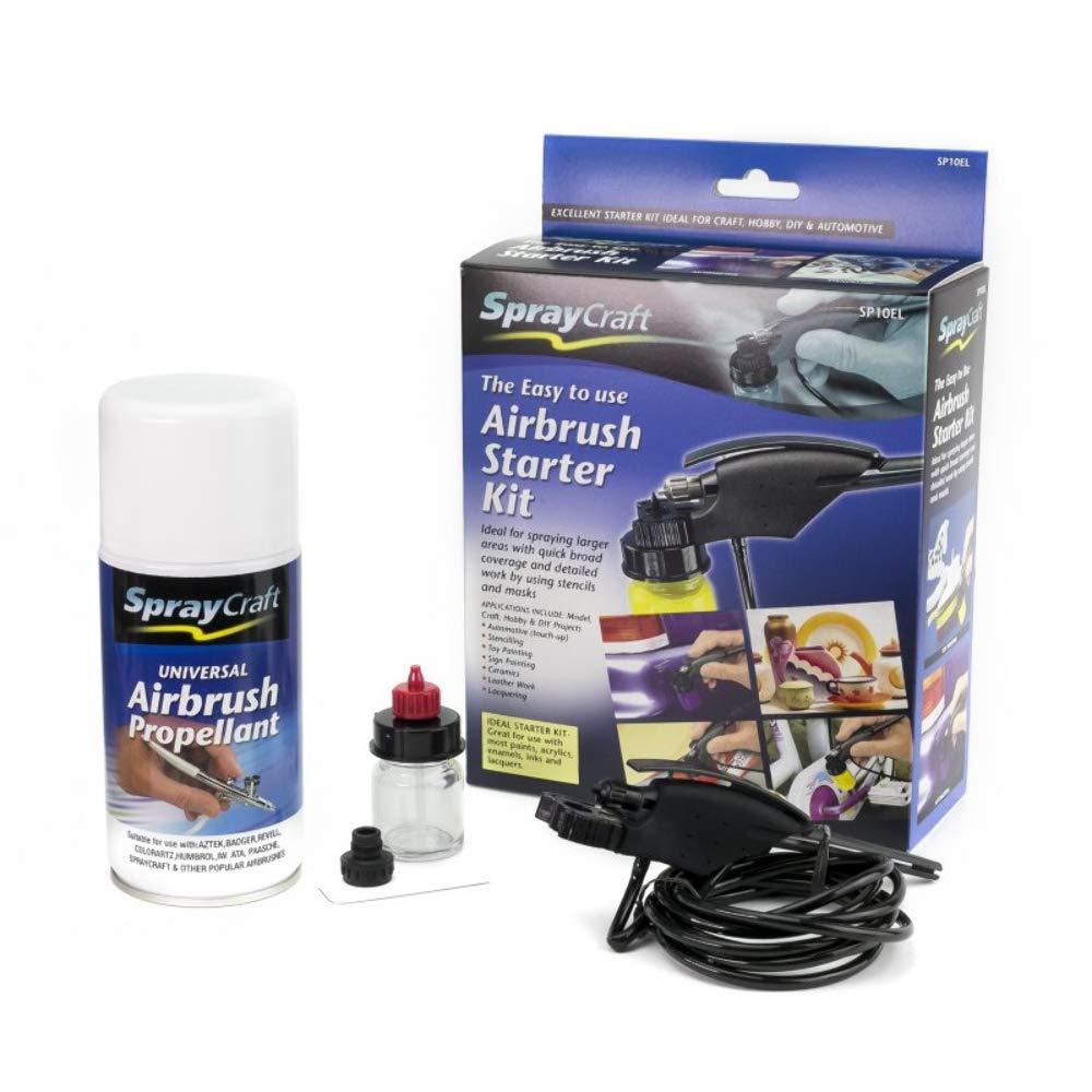 Einfach zu folgenden Airbrush Starter Kit