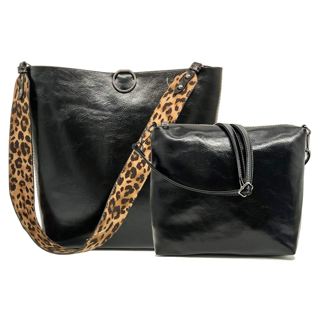 Women Designer Handbag Vintage Tote Purse 2 in 1 Hobo Bag ...