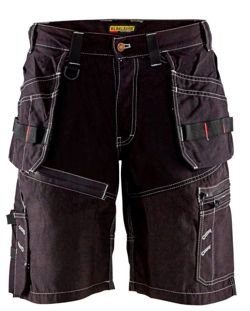 Blaklader 150213109900C46 X1500 Craftman-Shorts, Size 32/32, Black