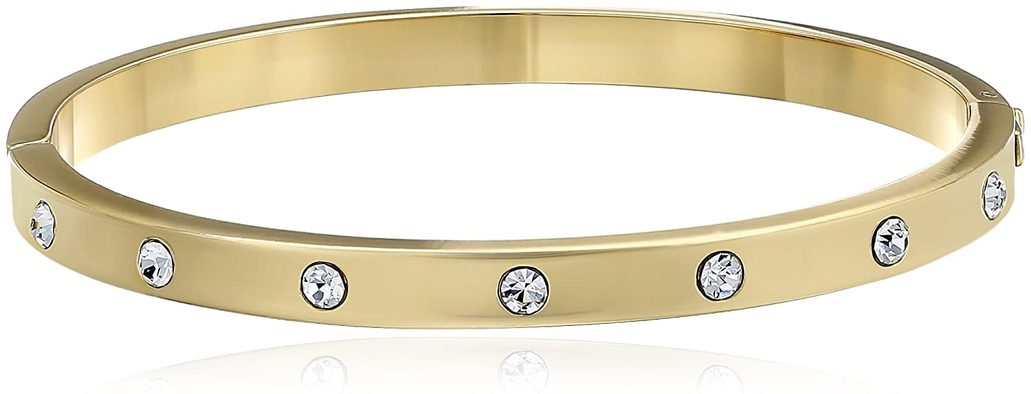 popular clear hinged spade bracelet com dp new bangles jewelry gold kate stone york bangle amazon set in