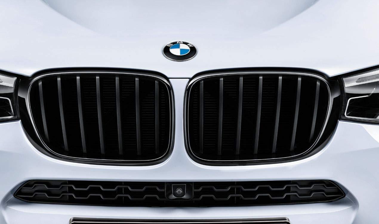 BMW Genuine M Performance Front Left Grille Trim Gloss Black Finish 51712337762