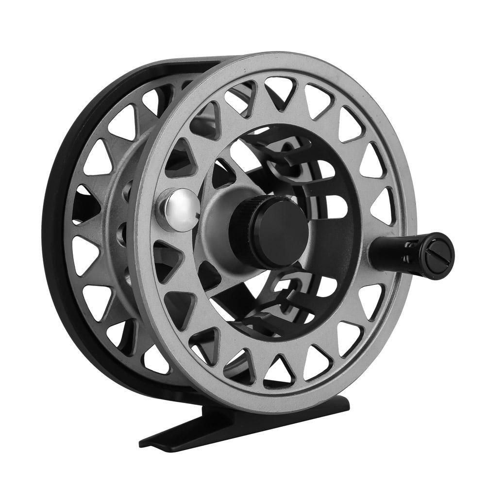 dilwe Fly Fishing Reelアルミニウム合金Fresh海水メタルスペアスプールDieキャストフライリール釣りリール B07D139T7D   7/8(95mm)