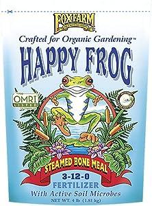 4lbs. Happy Frog Steamed Bone Meal Organic Plant Fertilizer