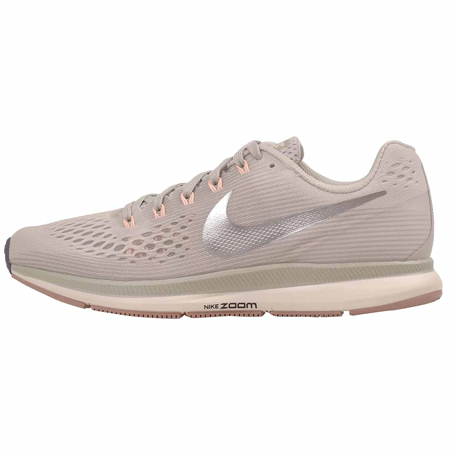 b0b9b13b9036 Amazon.com | NIKE Womens Air Zoom Pegasus 34 Running Trainers 880560  Sneakers Shoes (UK 4.5 US 7 EU 38, Light Bone Chrome Grey 004) | Road  Running