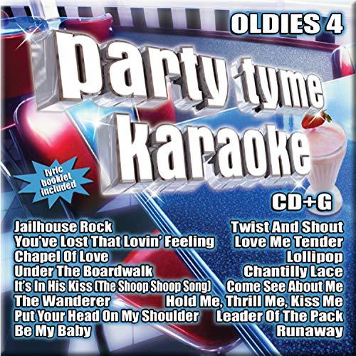 Party Tyme Karaoke - Oldies 4 (16-song CD+G) (Karaoke Cd Oldies)