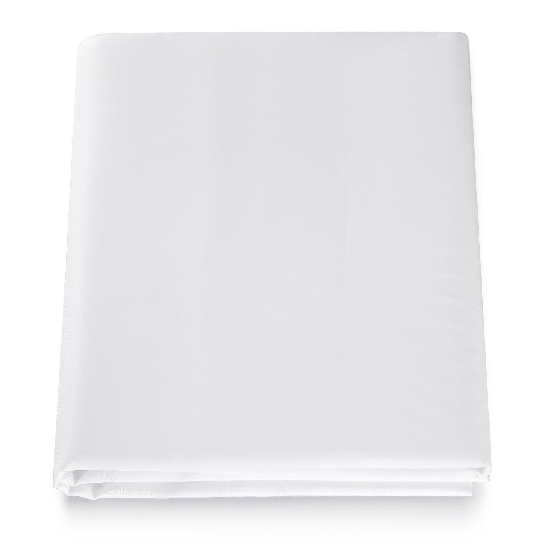 Neewer® 2 Yard x 60 Inch/1.8M x 1.5M Tessuto per Effetto Diffusione Nylon Seta Bianco Senza Cuciture per Fotografia Softbox, Tenda di luce e Modificatore di Luce
