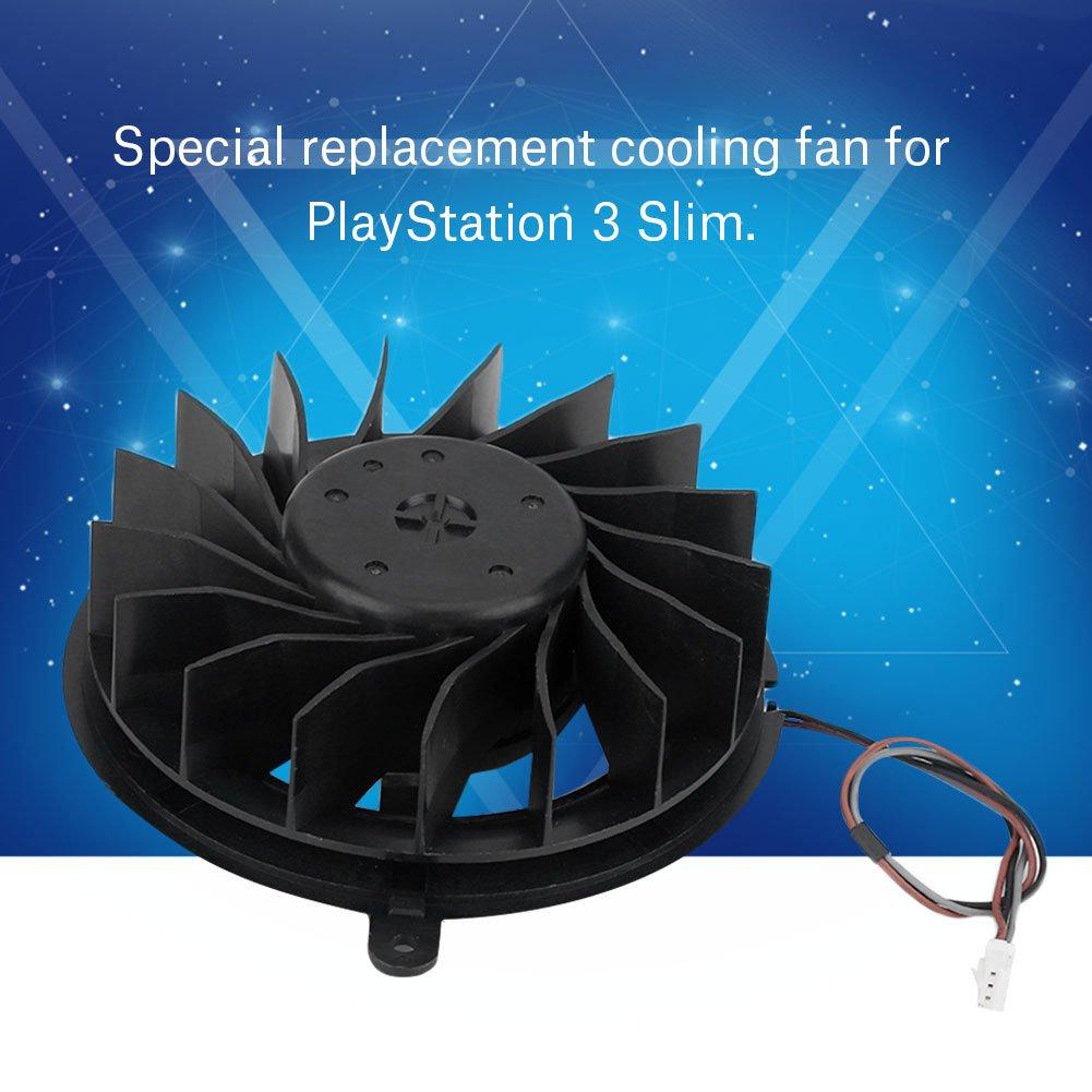 PS3 Slime Game Console Kit de Repuesto Tihebeyan Ventilador de refrigeraci/ón Interno para Sony Playstation 3 Slim