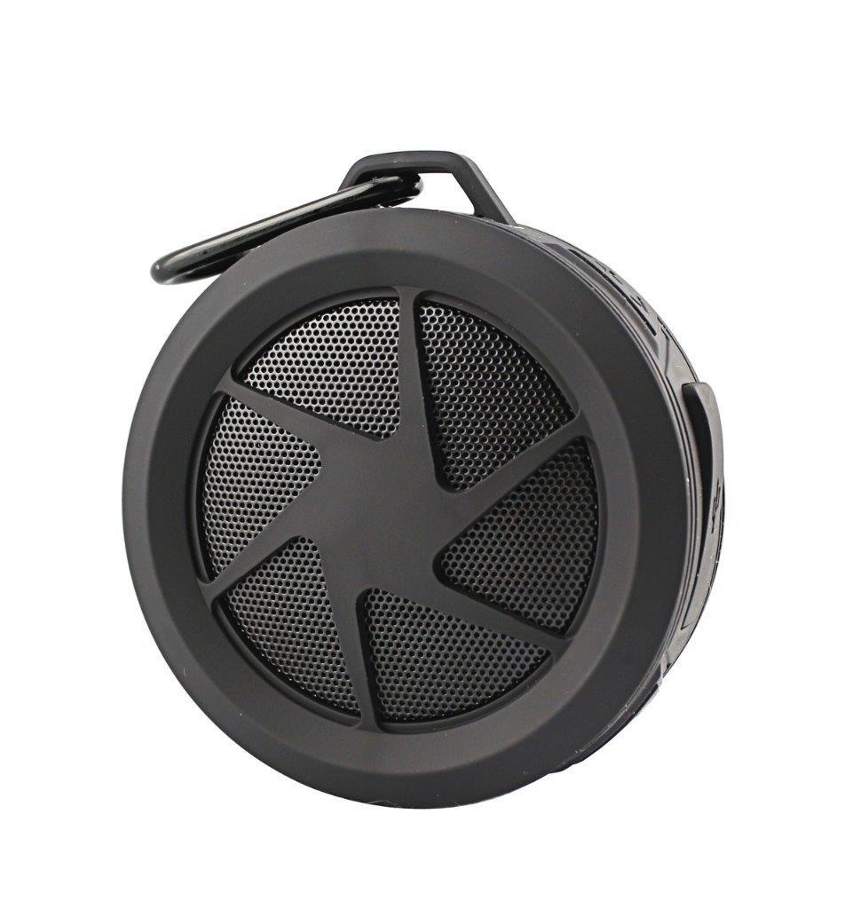 Mini Water Proof Wireless Speaker for Samsung Galaxy J7 (2017),J2 (2017), J7 Max, J3 (2017), Z4, J3 Prime, Amp Prime 2 (Black)