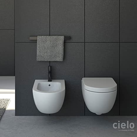 Ceramica Cielo serie Enjoy Keep clean Sanitari sospesi serie ...