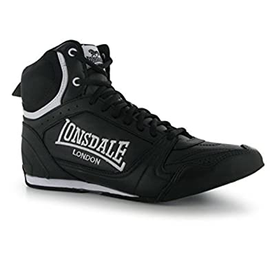 Amazon | Lonsdale Mens Boxing Boots Training Lace Up Sport Shoes  Trainers Footwear | Athletic