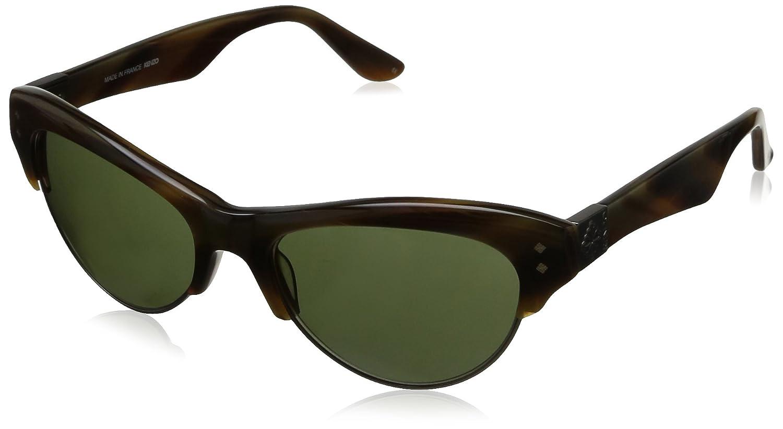 bbe4606fd0ba Kenzo Women's KZ3121 Cateye Sunglasses, KZ312103 Grey: Amazon.co.uk:  Clothing