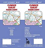 Clemson / Easley / Pickens County, South Carolina Street Map