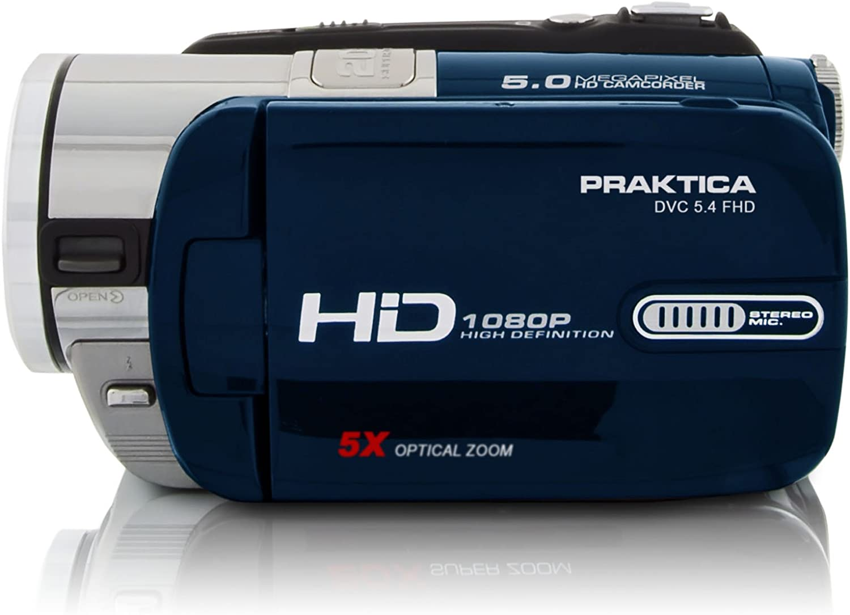 Praktica Dvc 5 4 Hd Camcorder Kamera