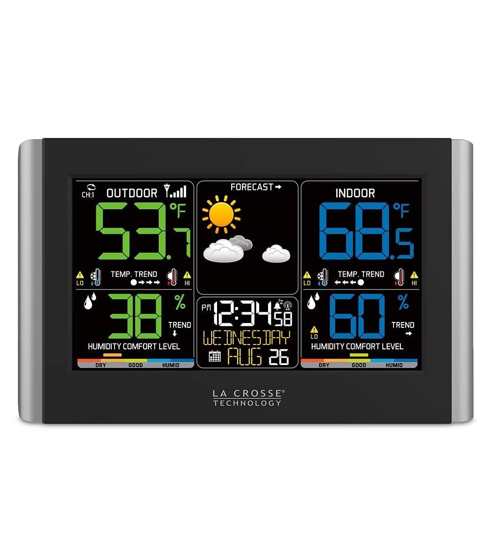 La Crosse Technology Horizontal Color Wireless Weather Station