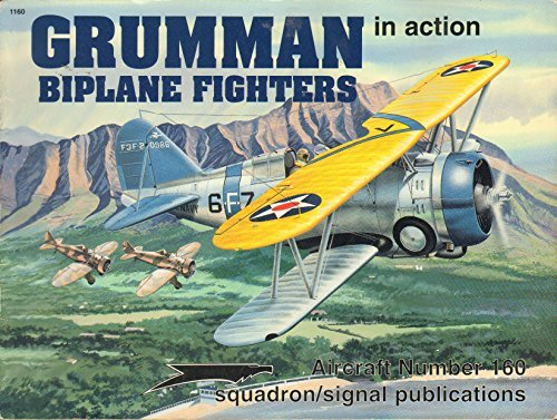 Grumman Biplane Fighters in Action - Aircraft No. 160