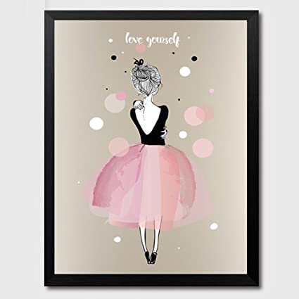 Amazoncom Zehui Wall Stickers Hanging Poster Lovely Girl