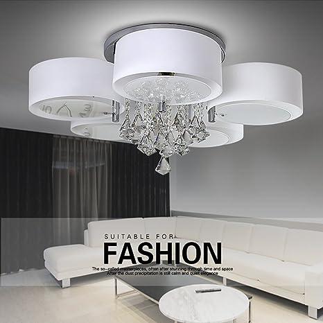 Modern - Lámpara LED de techo - Lámpara de techo (5 focos ...