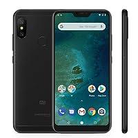 "Xiaomi Mi A2 Lite Smartphones 5.84"" Pantalla Full HD 4 GB RAM + 64 GB ROM Snapdragon 625 Octa Core Dual SIM MicroSD 5MP Frontal + 12MP 5MP Dual Cámara Trasera Móviles Teléfono Negro(2018"