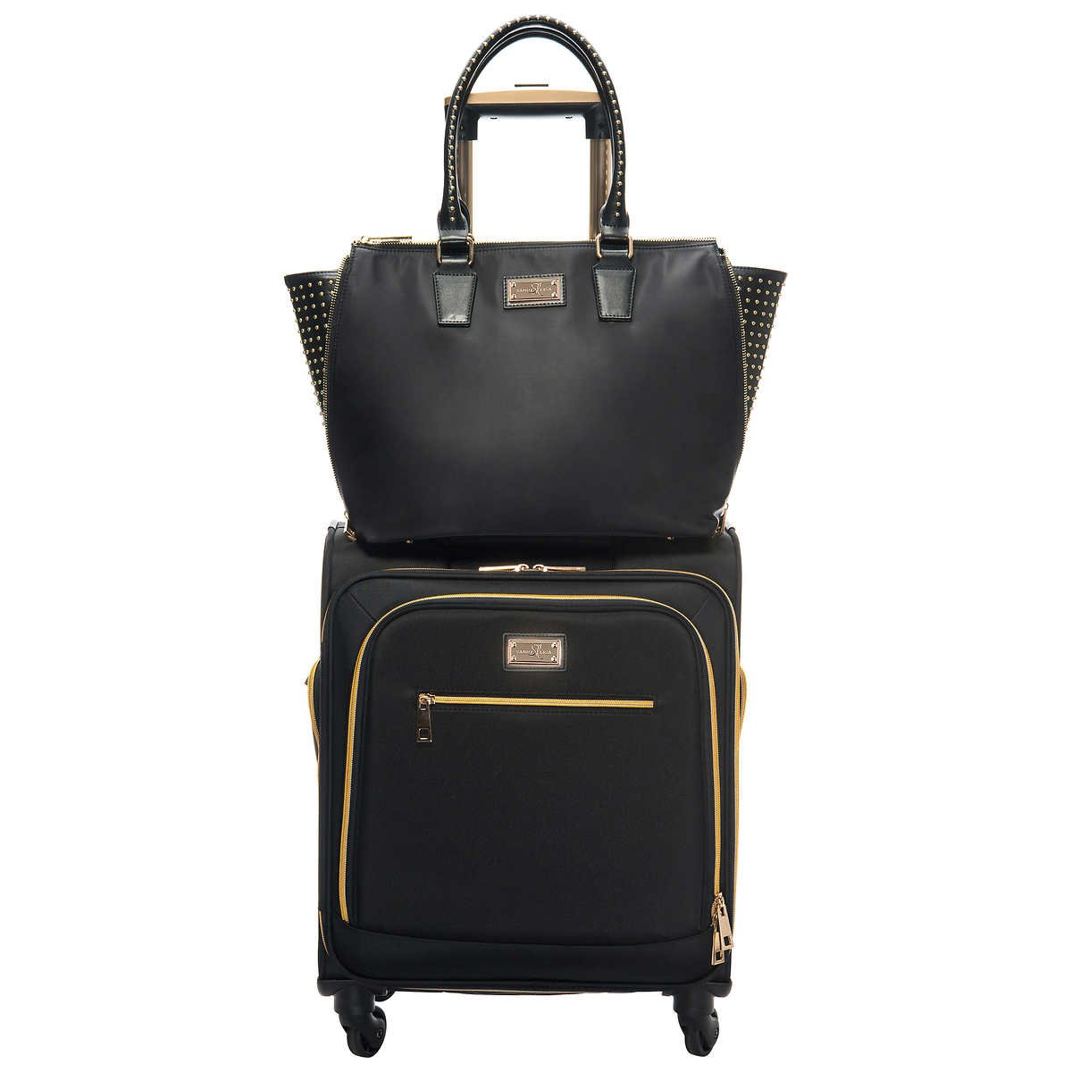 Sandy Lisa Carry On Luggage and Tote B07HQW58TB  Luggage and Tote