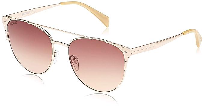 Just Cavalli JC750S-28G Gafas de sol, Shiny Gold/Mirror ...