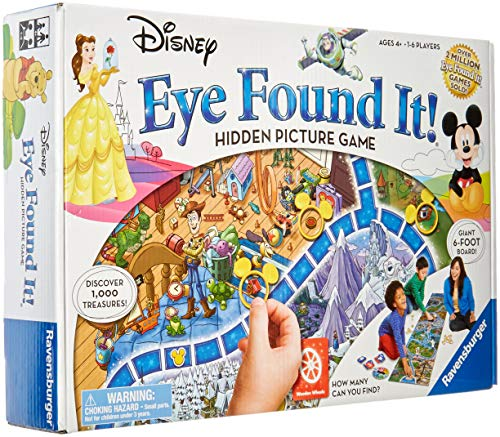 World of Disney Eye Found It Board -